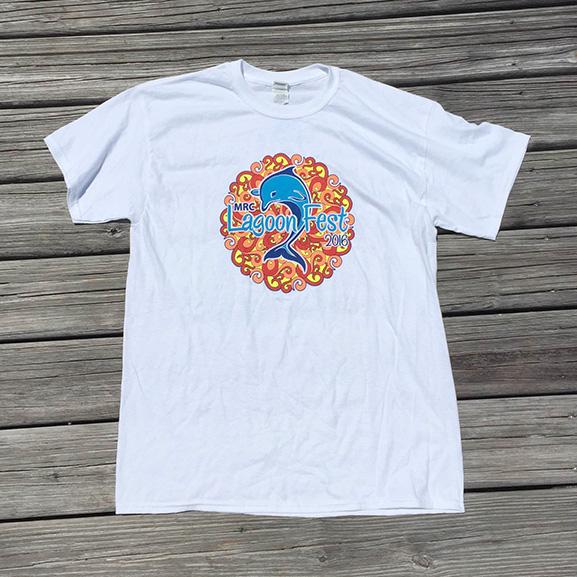 Sponsor T-shirt - White - Front